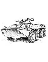 Zvezda Models BTR-70 Model Kit with MA-7 Turret
