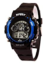 A Avon Sports Digital Black Dial Women's & Kids Watch - 1001346