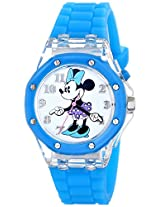 Disney Kids' MN1173 Analog Display Analog Quartz Blue Watch