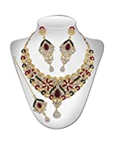 Niki Jewels Alloy Necklace Set (Multicolour) (010 133 2697)