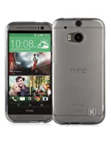 KAYSCASE HTC One Plus Soft Gel TPU Cover Case - Smoked