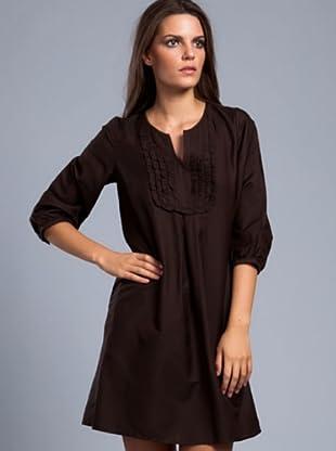Cortefiel Kleid Babero (Braun)