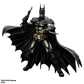 BATMAN: ARKHAM ASYLUM(TM) PLAY ARTS -KAI- BATMAN(TM) ARMORED yobg}(TM) A[}[hz