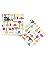 Tag Modern Design Party Paper Beverage Paper Napkins 20Ct