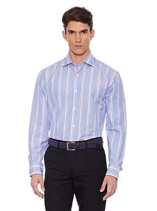 Hackett Camisa Rayas (Rosa / Azul)
