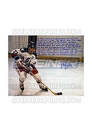 Steiner Sports Memorabilia Mike Eruzione Signed Story Photo
