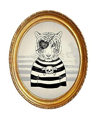 Panel Decorativo Pirate Tiger