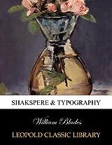 Shakspere & typography