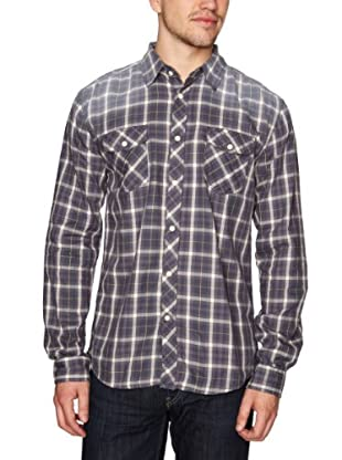 Selected Camisa Ludwig (Azul / Blanco)