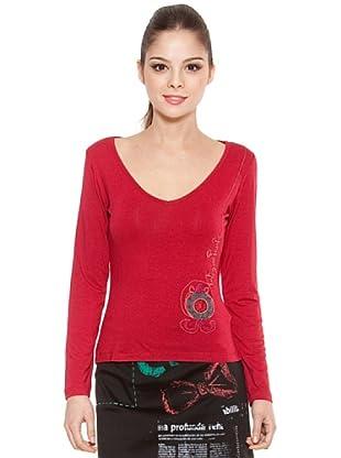 Poupé Chic Camiseta Reloj Sencilla (Rojo)
