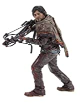 """Mc Farlane Toys The Walking Dead Tv Daryl Dixon 10"""" Deluxe Action Figure Toy Figure Statue Removable Poncho Hunting Knife Crossbow"""