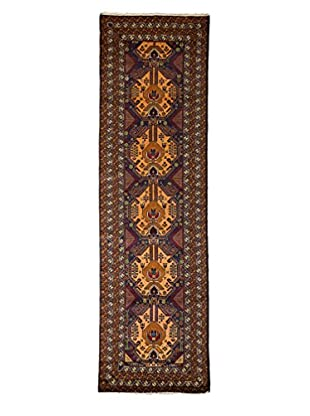 Darya Rugs Tribal One-of-a-Kind Rug, Navy, 2' 8