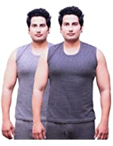 Selfcare Set Of 2 Men's Sleeveless Thermal Top
