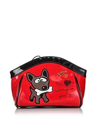 Hoy Collection Trousse Serafina Candy Apple (Rosso)