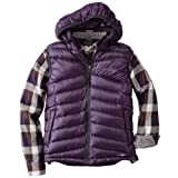 900 Fill Power Chevron Quilt Down Vest 677559: Dark Purple