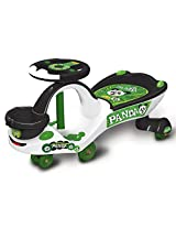 Ayush Toyzone Panda Eco Magic Ride-On - White