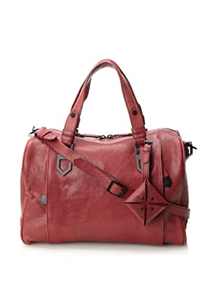 Allibelle Women's Arrowhead Satchel (Cardinal)