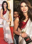 Priyanka Chopra White Net Saree