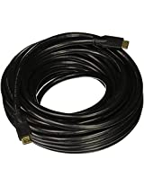 Monoprice Commercial 50ft 24AWG CL2 Standard HDMI Cable With Ethernet - Black