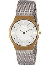 Skagen Grenen Analog Silver Dial Men's Watches's Watch - 233LGS