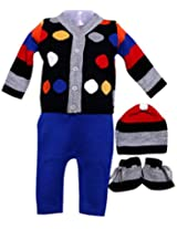 Amity Anchor Kids Warm Wear Set (AA14-15268_6-12 Months_Multi-Coloured)