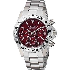 DOLCE SEGRETO 腕時計 レッド CG100RD メンズ