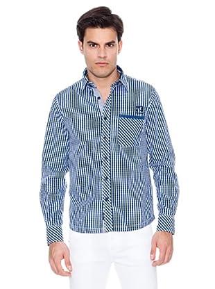 Pepe Jeans London Camisa Cheyne (Marino / Blanco)