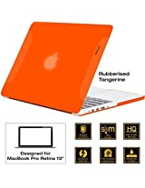 AirPlus-Retina 13-inch Neon Series satin finish Hard Case Shell Cover for Apple MacBook Pro 13.3 with Retina Display [Tangerine (Orange)]