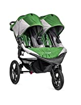 Baby Jogger 2014 Summit X3 Double Stroller, Green/gray (Discontinued by Manufacturer)