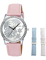 Giordano Analog White Dial women's Watch - 60069-03