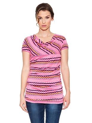 Mahal Camiseta Largo (Rosa)