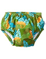 i play. Baby Boys' Classics Ultimate Snap Swim Diaper, Olive, 0-3 Months