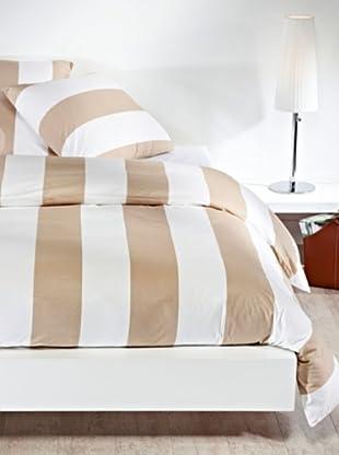 Mistral Home Bettwäsche-Set Mykonos in 3 Größen (braun)
