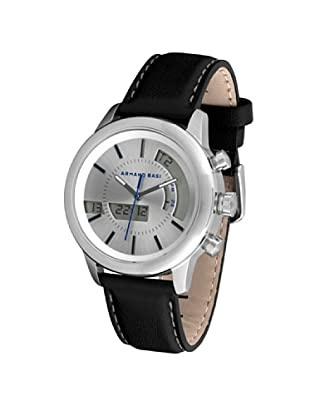 ARMAND BASI A0901G01 - Reloj de Caballero movimiento de cuarzo con correa de piel Negra
