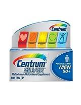 Centrum Silver Men's Multivitamin Tablets -- 100 Tablets