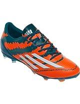 Adidas Messi 10.1 FG Soccer/Football Shoes - Power Teal/White/Solar Orange (Ind/Uk 09)