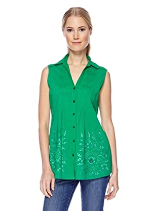 Miss Magic by Magic Woman Bluse (Lime)
