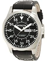 Invicta Analog Black Dial Men's Watch - 11188