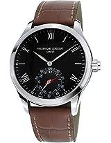 Frederique Constant Analog Black Dial Men Watch - FC-285B5B6