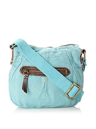 49 Square Miles Women's Canvas Mini Cross-Body, Lagoon, One Size