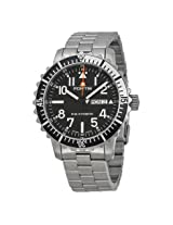 Fortis Marinemaster Automatic Black Dial Stainless Steel Men's Watch (670.17.41 M)