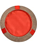 Wedding Welcome Cardboard Decorative Tray (27 cm x 27 cm x 4 cm, Red)