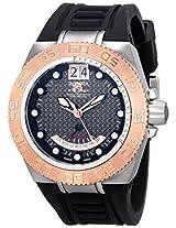 Invicta Men's 10879 Subaqua Reserve GMT Grey Dial Grey Rubber Watch