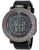 """Vestal Men's GDEDP04 """"The Guide"""" Grey Stainless Steel Digital Watch"""