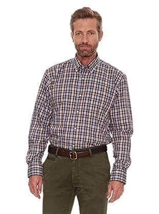 Cortefiel Camisa Median (Marrón Oscuro)