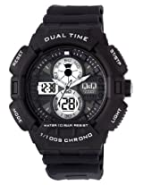 Q&Q Analog-Digital Grey Dial Men's Watch - GW81J001Y