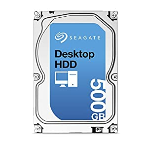 Seagate ST500DM002 500GB Internal Hard Drive (Silver)
