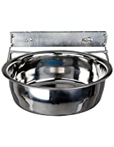 Advance Pet Products Stainless Steel Coop Cups with Clamp, 20-Ounce