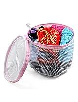 Zip up Closure Underwear Bra Washing Bag
