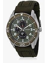 Ap4011-01W Blue/Grey Analog Watch CITIZEN